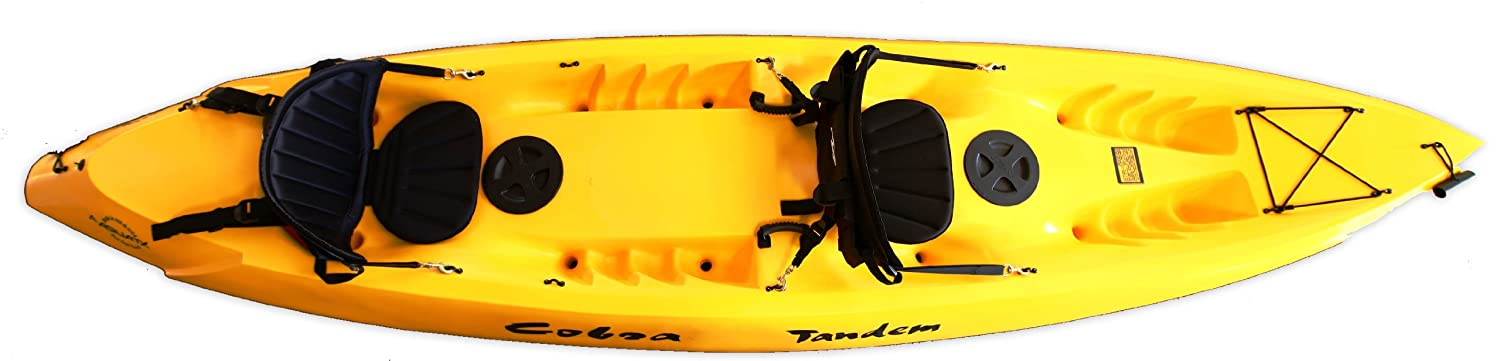 Amazon Cobra Tandem 2 Person Sit On Top Kayak Yellow Sports Outdoors