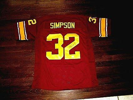 more photos 998ed b2063 O.J. Simpson Signed Jersey - Oj Usc Trojans Hof Usc - JSA ...