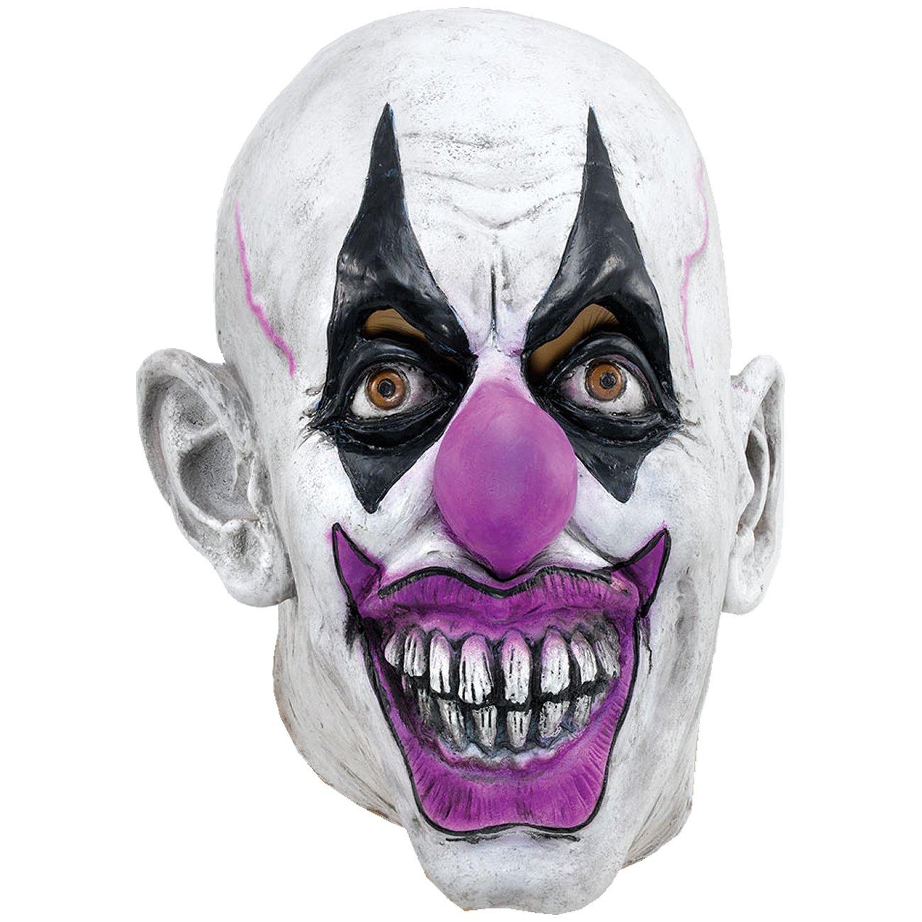 Unbekannt Vollmaske verrückter Clown Clownsmaske Clownmaske Maske NoName