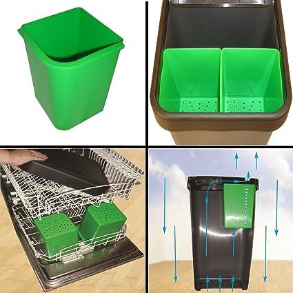 Rifiuti/Compost Inserire Per 3 In 1 Bidone Dei Rifiuti Di Cucina