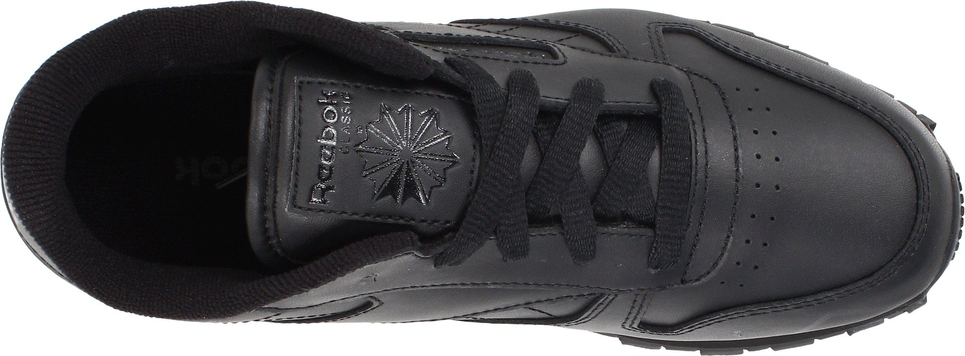 Reebok Classic Leather Shoe,Black/Black/Black,11.5 M US Little Kid by Reebok (Image #7)