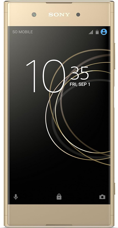 Sony Xperia XA1 Plus Smartphone da 32 GB, Oro [versione Italia]