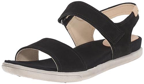 09285efd90316 Ecco Damara - Sandalias de Vestir de Piel para Mujer  Amazon.es  Zapatos y  complementos