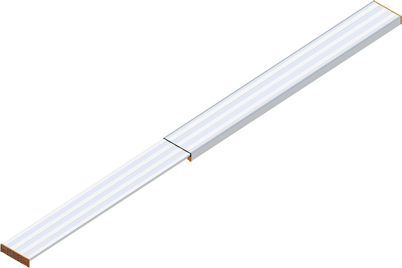 Layher 1351440 de aluminio Tele puente, extensible a longitud máxima 4,40 m, soporta hasta 150 kg: Amazon.es: Bricolaje y herramientas