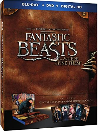 Amazon com: Fantastic Beasts and Where to Find Them || Blu