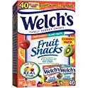 Welch's 40 Count Fruit Punch and Island Snacks