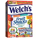WELCH'S Fruit Punch and Island Snacks, 0.9 Ounce, 40 Count