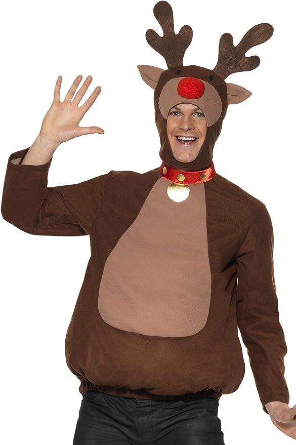Smiffys - Disfraz de reno para hombre, talla L (33610M): Amazon ...