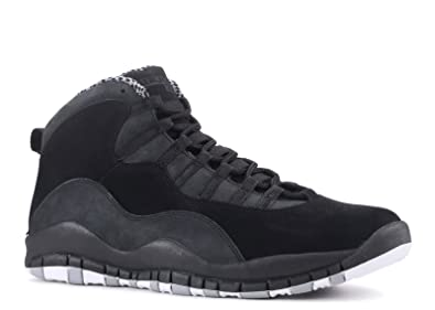 super popular 428cc 4f2e6 Jordan Air Retro 10 Black White Stealth Mens Fashion Sneakers 310805-003 (