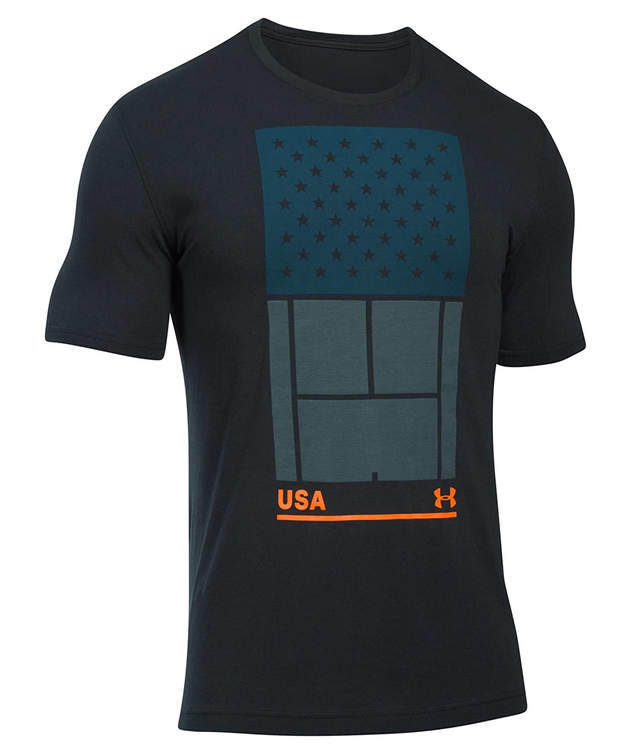Under Amour Tennis T-Shirt Uomo US Open Court Andy Murray Under Armour