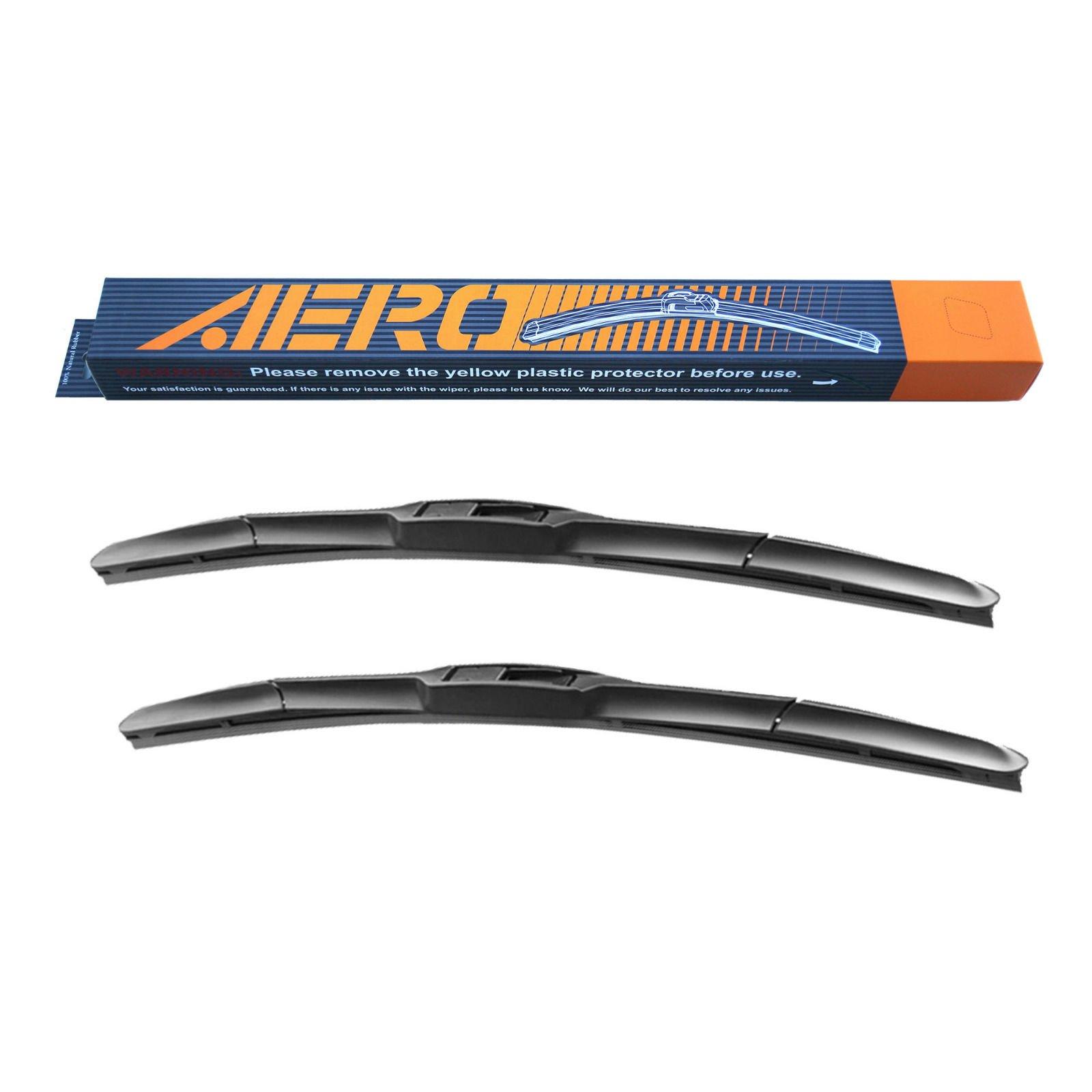 AERO Hybrid 21'' + 21'' Premium Quality All-Season Windshield Wiper Blades (Set of 2)
