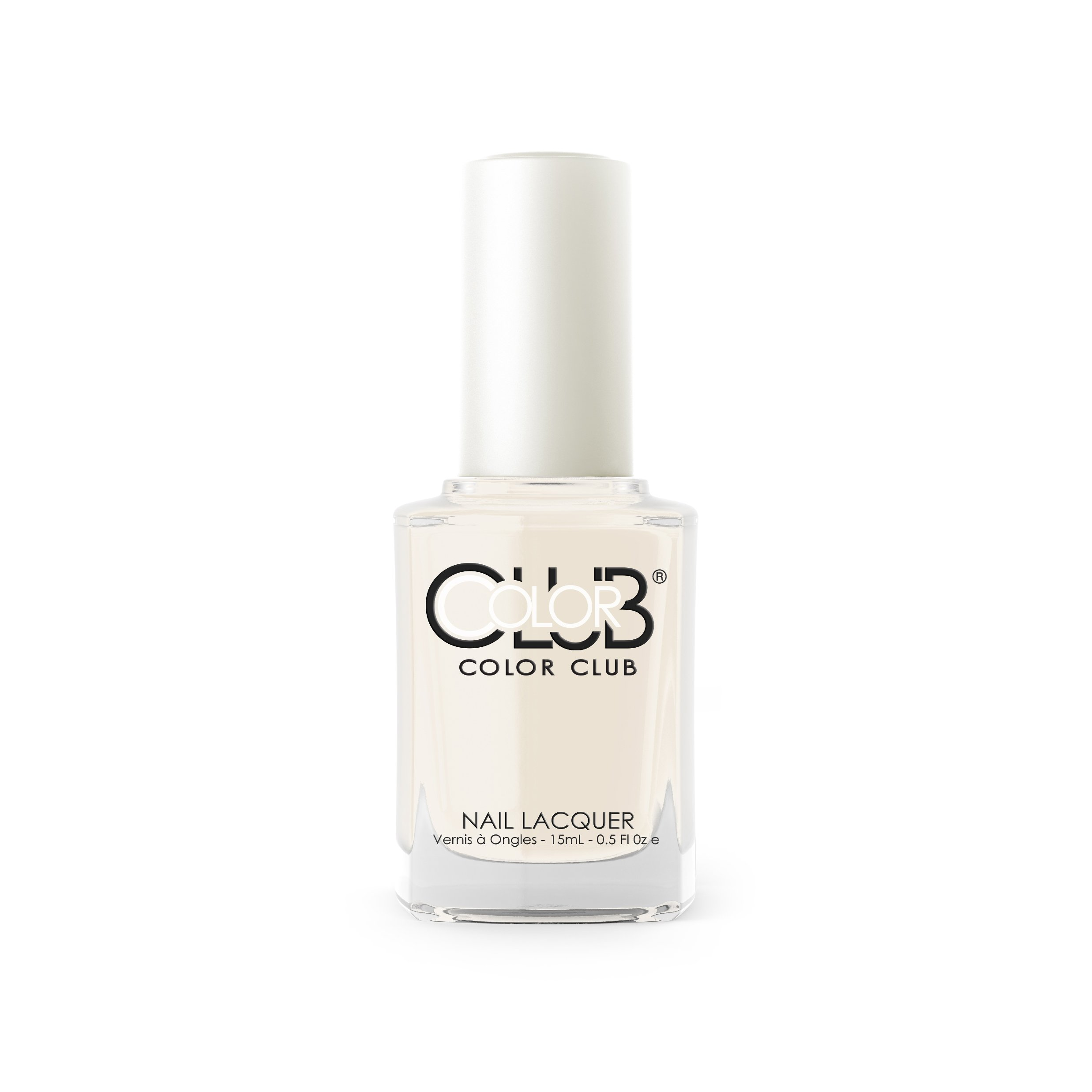 Color Club Nail Polish, White, French Tip, .05 Ounce