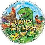 """Unique Party 58307 - 18"""" Foil Dinosaur Balloon"""