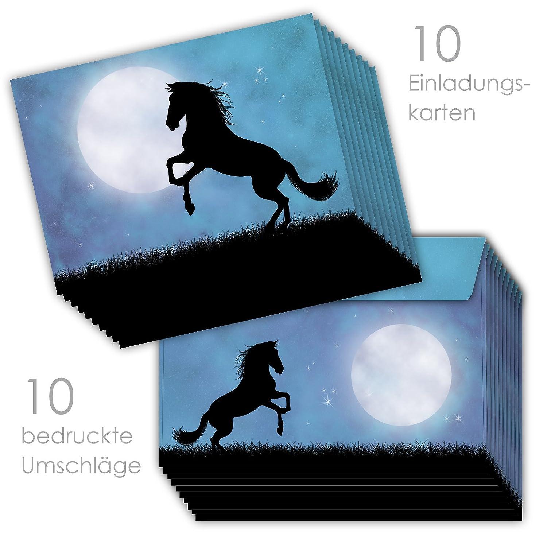10 Einladungskarten