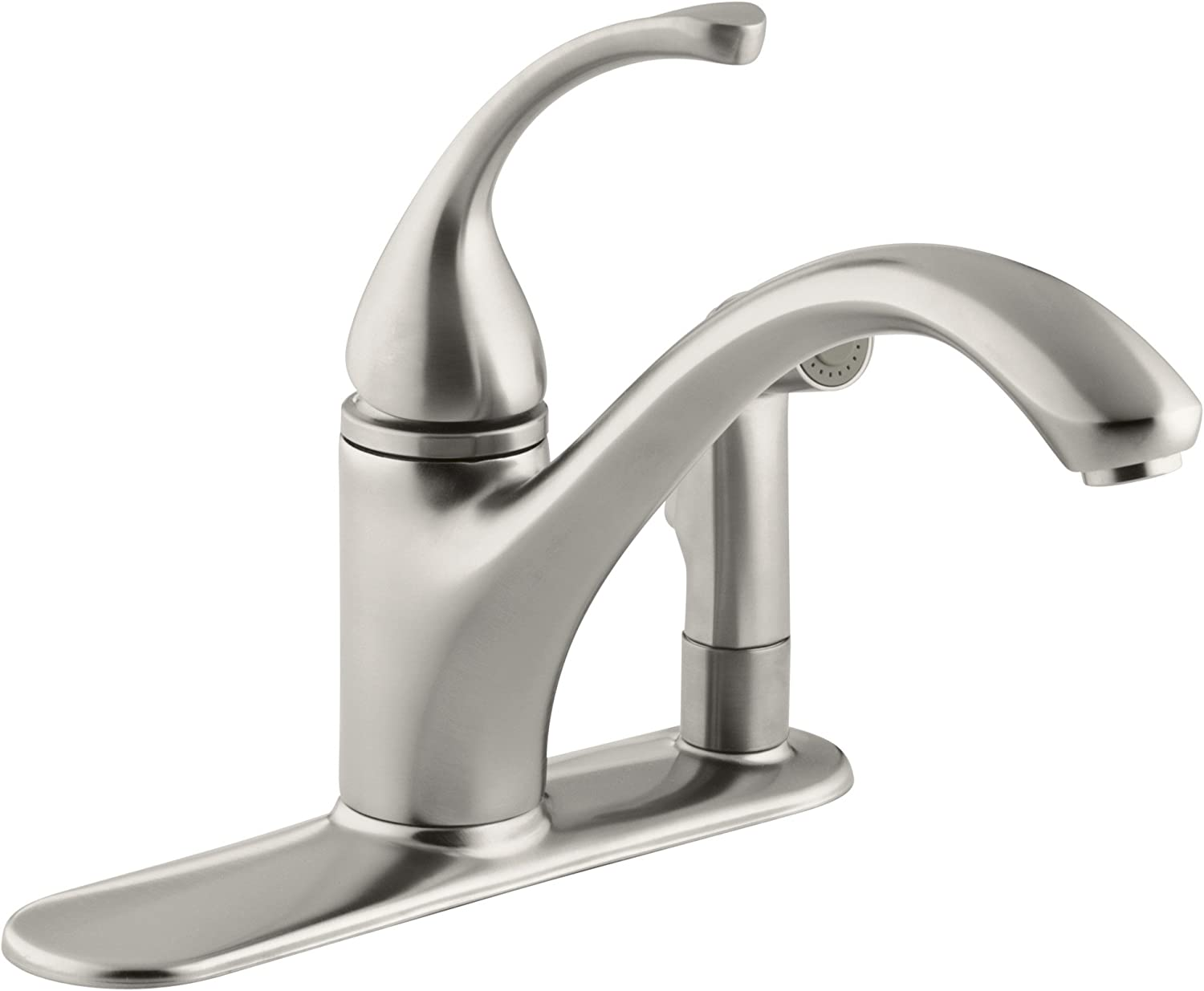 Kohler 10413 Vs Forte R 3 Hole Sink 9 1 16 Spout With Matching