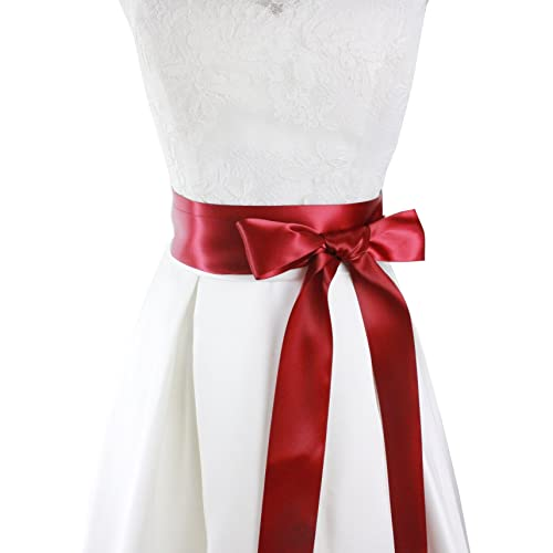 Red Bridal Sashes and Belts: Amazon.com