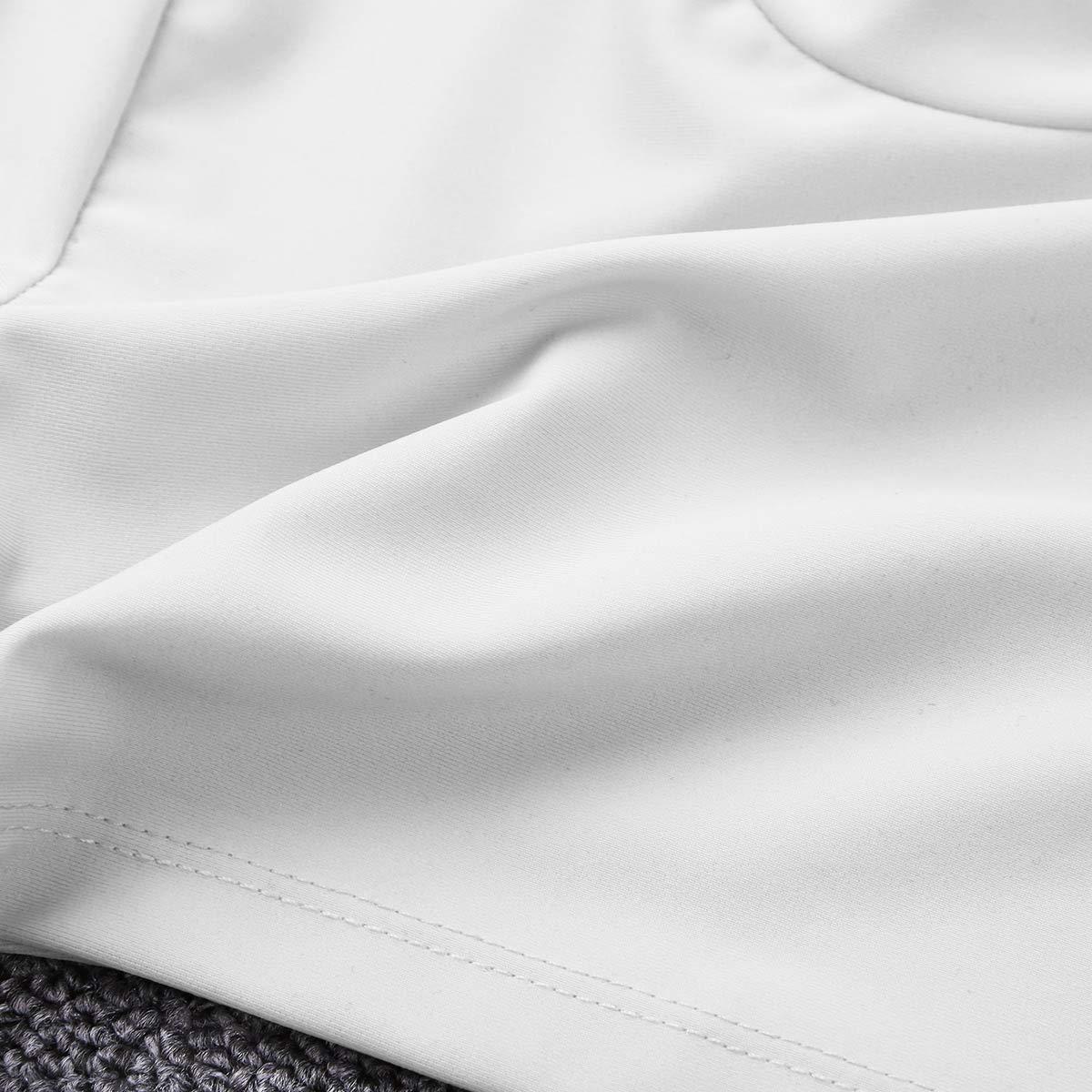 iixpin Camiseta de Manga Larga Ni/ña Cuello Alto Body El/ástico Ropa de Danza Fiesta B/ásico Crop Top Cuello Vuelto Ropa de Abrigo Traje de Baile Deporte Gimnasia Gym Fintess