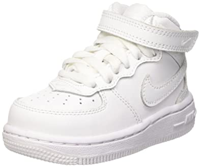 c3de0e7c8bc3c0 Nike Air Force One Mid Sneaker-Infant Toddler White 4
