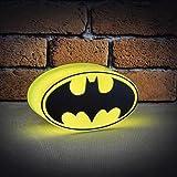 DC Comics beleuchtetes Mini-Batman-Logo, mehrfarbig