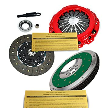 EFT etapa 2 Kit de embrague + Fidanza volante para Nissan 350Z Infiniti G35 vq35de: Amazon.es: Coche y moto