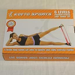 Koyto Sports Bandas Elásticas de Resistencia Premium - Set de 6 ...