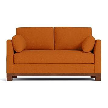 Avalon Apartment Size Sofa, Sweet Potato