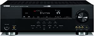 Yamaha RX V665BL 630 Watt 7 Channel Home Theater Receiver (OLD VERSION) (Discontinued by Manufacturer)