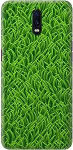 Stylizedd Oppo R17 Slim Snap Basic Case Cover Matte Finish - Grassy Grass