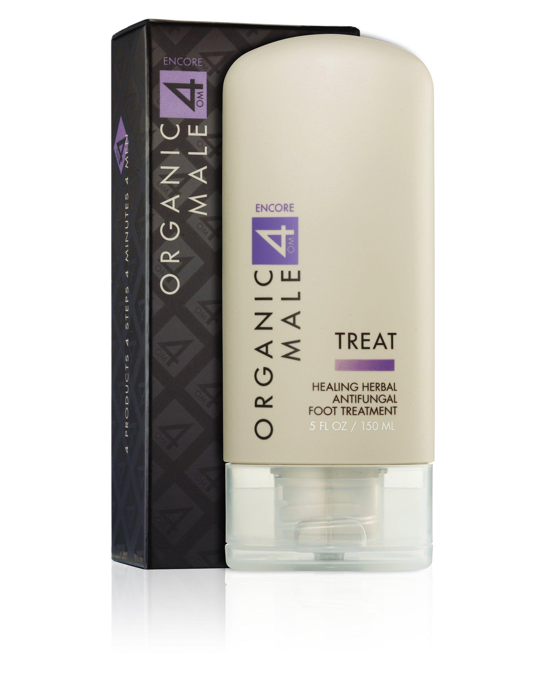 Organic Male OM4 Encore TREAT: Healing Herbal Antifungal Foot Treatment - 5 oz