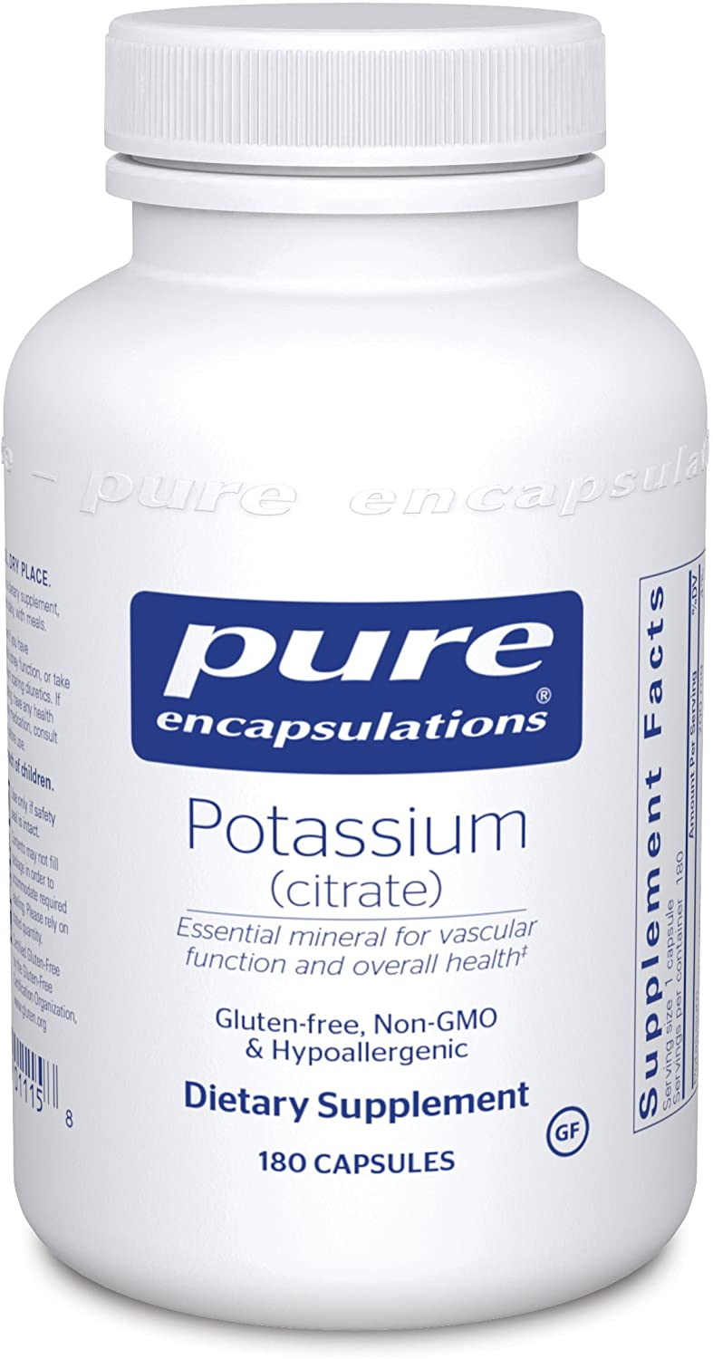 Product thumbnail for Pure Encapsulations - Potassium (Citrate)
