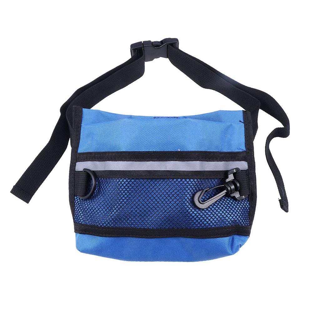 Adjustable Lightweight Custom-Designed Portable Pet Snack Bag Training Dog Pocket Treat Training Pouch Training Waist Pack, Made of Durable, Washable Cloth by CWH&WEN