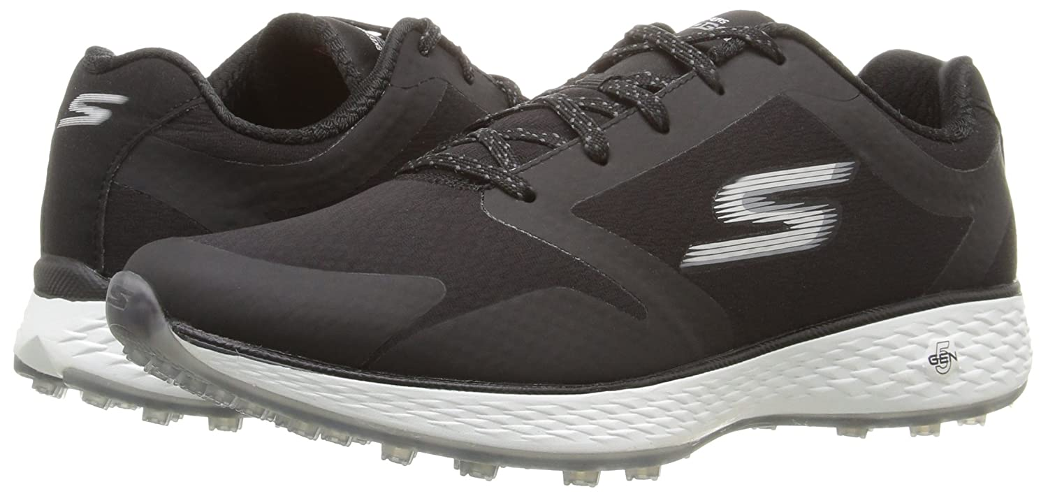 Skechers Women's Go Golf Birdie Golf Shoe B01GUVQ4IE 7.5 B(M) US|Black/White