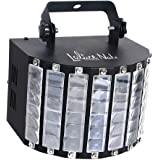 LaluceNatz DJ Lights with 30W Multicolor LED Beams by IR Remote and DMX Control for Disco Club Birthday Party Stage Lighting (Metal Casing)