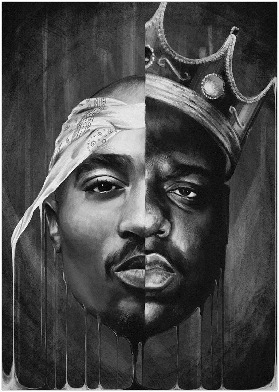 Image result for tupac black and white