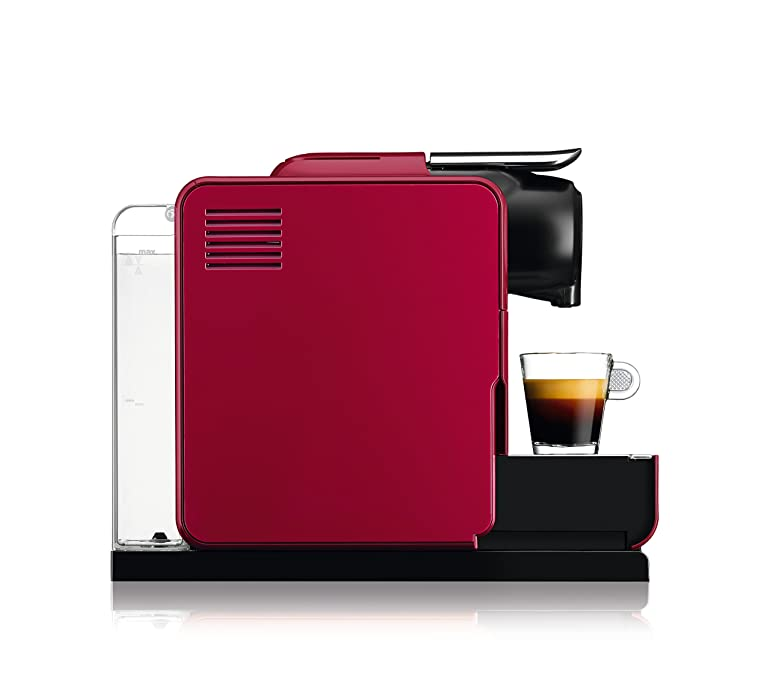 Nespresso EN550.R Lattissima Touch Automatic Coffee Machine, Glam ...