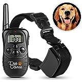 Dog Training Collar, Upgraded Sokos LED Backlight Rechargable 330YD Remote Dog Training Shock Collar, Beep Vibration Electronic Electric Collar