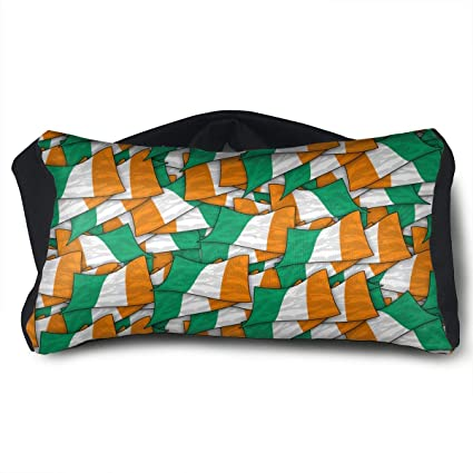 Amazon.com: Cote D - Cojín de viaje con diseño de bandera de ...
