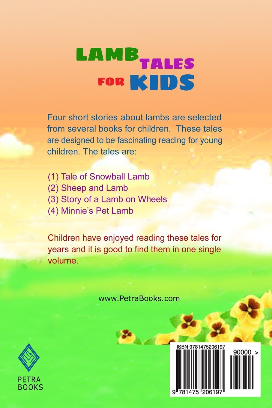 lamb tales for kids four fantastic short stories about lambs for