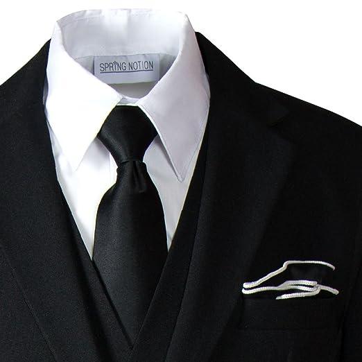 Amazon.com: Spring Notion - Juego de corbata y pañuelo con ...