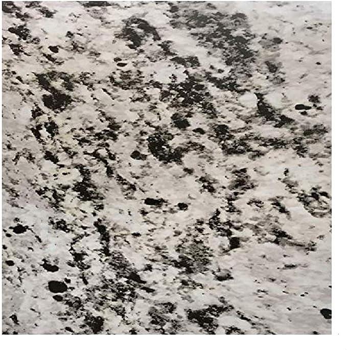 Ez Faux Decor Rollo De Papel De Vinilo Autoadhesivo Impermeable Color Negro Gris Blanco Granito Para Cocina Actualización Instantánea 36 0 X 14 0 In Home Improvement Amazon Com