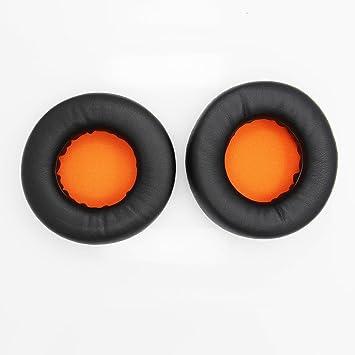 Shinecozy Almohadillas Premium para Audífonos, Almohadillas de proteína de cuero para Auriculares, Almohadillas de