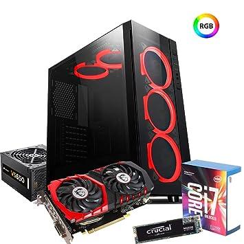 PC Sobremesa i7 - 7700 K 4.50 GHz/RAM 16 GB DDR4/SSD M.2 275 GB/