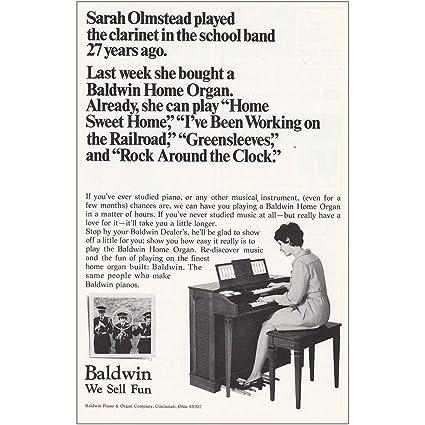 6a375c2d2 Amazon.com  RelicPaper 1969 Baldwin Home Organ  Sarah Olmstead ...