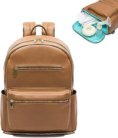Brown Leather Bag Travel Backpack Leather Backpack Leather Laptop Bag Backpack Purse