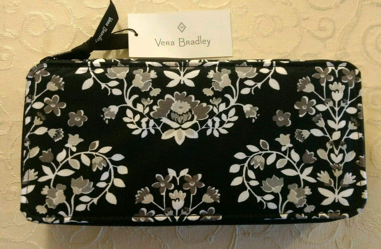 VERA Bradley Large Travel Pill CASE (Chandelier Noir) by Vera