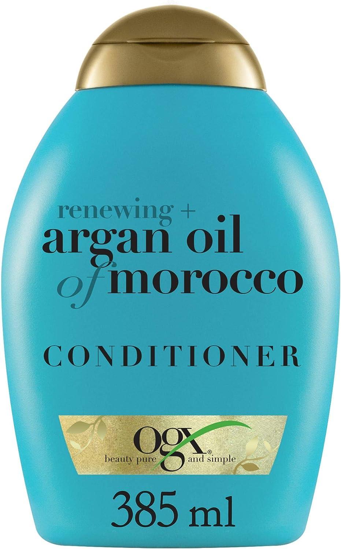 OGX, Acondicionador Aceite de Argán de Marruecos, Cabellos Secos y Dañados, 385 ml