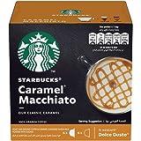 STARBUCKS Caramel Macchiato by NESCAFÉ Dolce Gusto Coffee(12 Capsules)