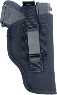 """product image for Soft Armor """"in-The-Pant or Hip Ambidextrous Nylon Gun Holster with Thumb Break Retention Strap"""