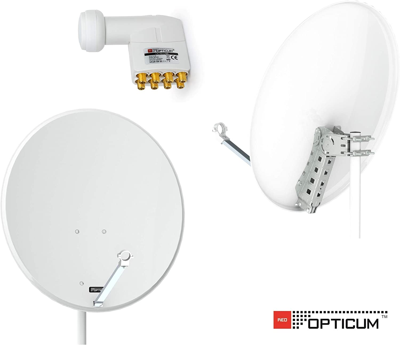 Opticum QA80/satellite antenna steel