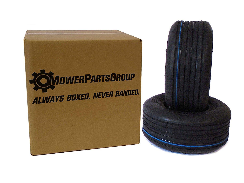 (2) 13x5.00-6 Rib Tires 4 ply Lawn Mower Garden Tractor 13-5.00-6